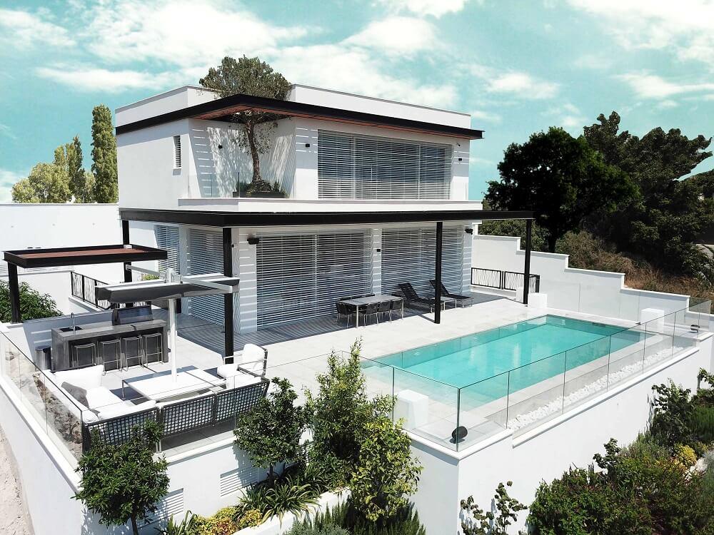 תכנון הבתים בשכונת דניה בחיפה - טובה וצילה משרד אדריכלים